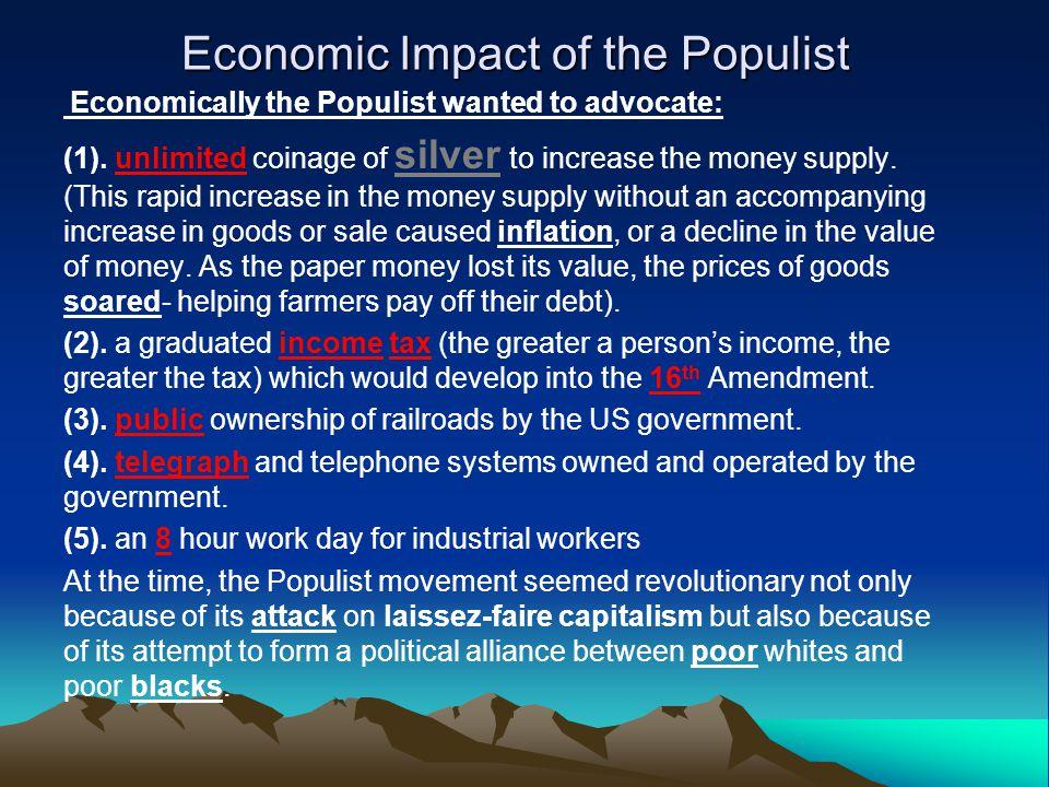 Economic Impact of the Populist