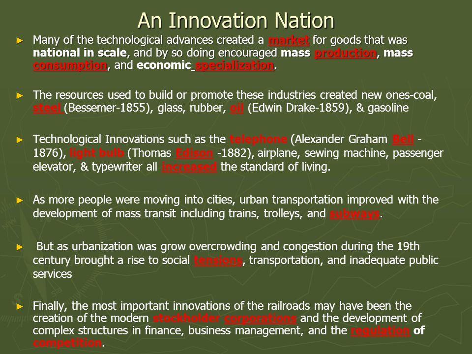 An Innovation Nation