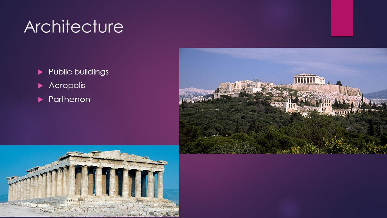 Architecture Public buildings Acropolis Parthenon