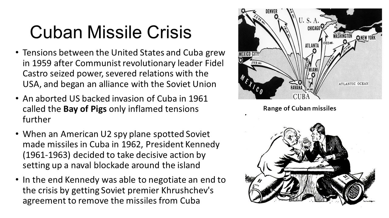 an overview of the cuban missile crisis in 20th century Massive landmarks of the 20th century the cuban missile crisis (tv episode) on imdb: plot summary, synopsis, and more.