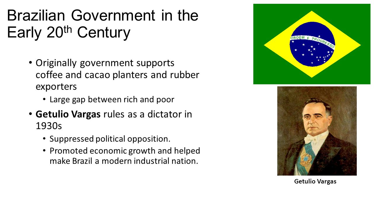 Brazilian Government in the Early 20th Century