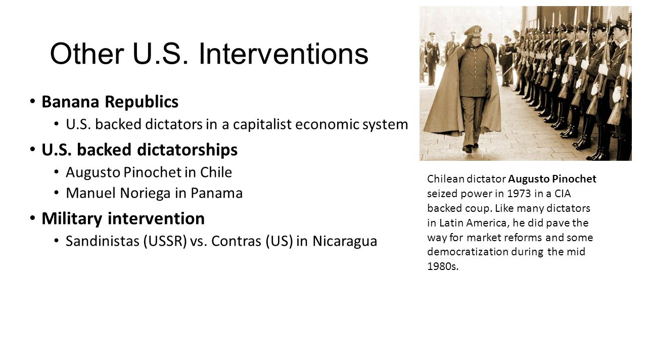Other U.S. Interventions
