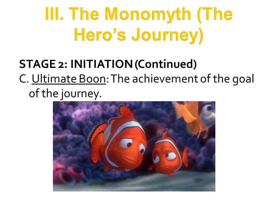 III. The Monomyth (The Hero's Journey)