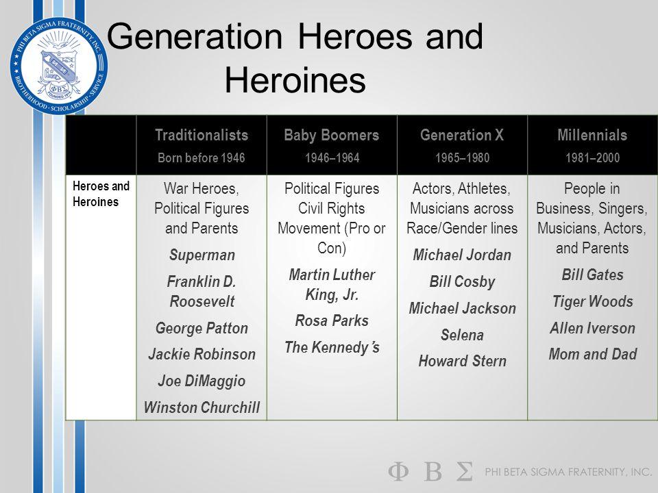 Generation Heroes and Heroines