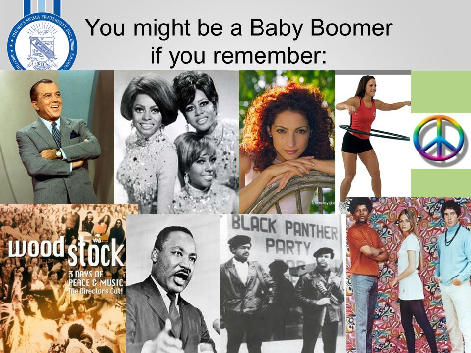 You might be a Baby Boomer if you remember: