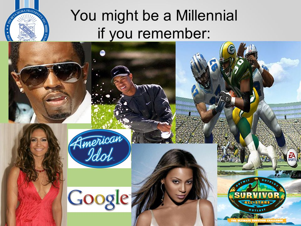 You might be a Millennial if you remember:
