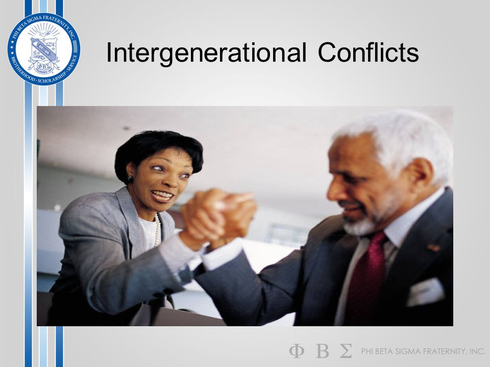 Intergenerational Conflicts