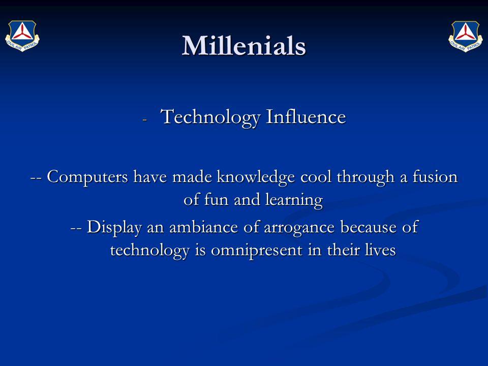 Millenials Technology Influence