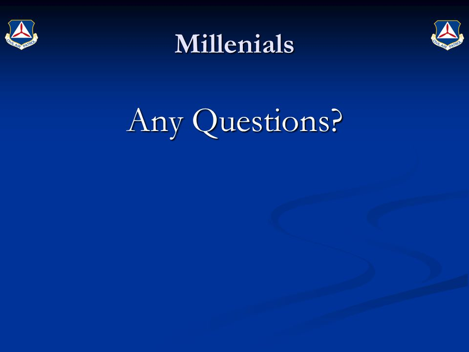 Millenials Any Questions