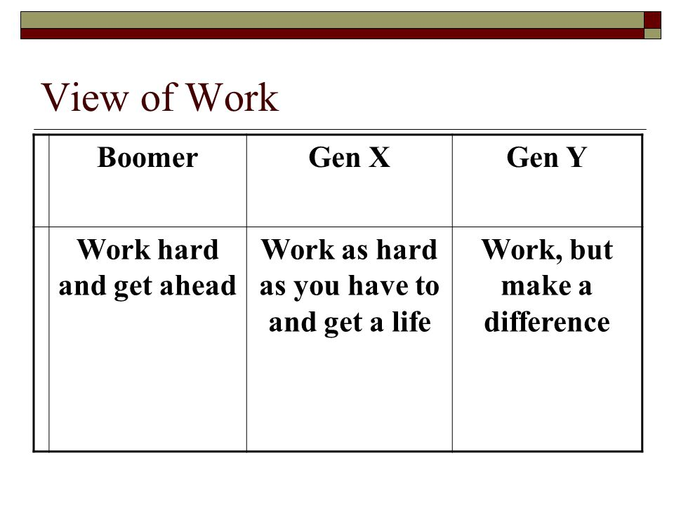 Work as hard as you have to and get a life Work, but make a difference