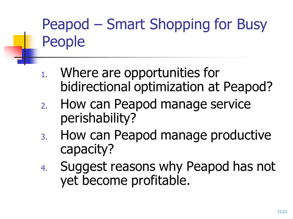 Peapod – Smart Shopping for Busy People
