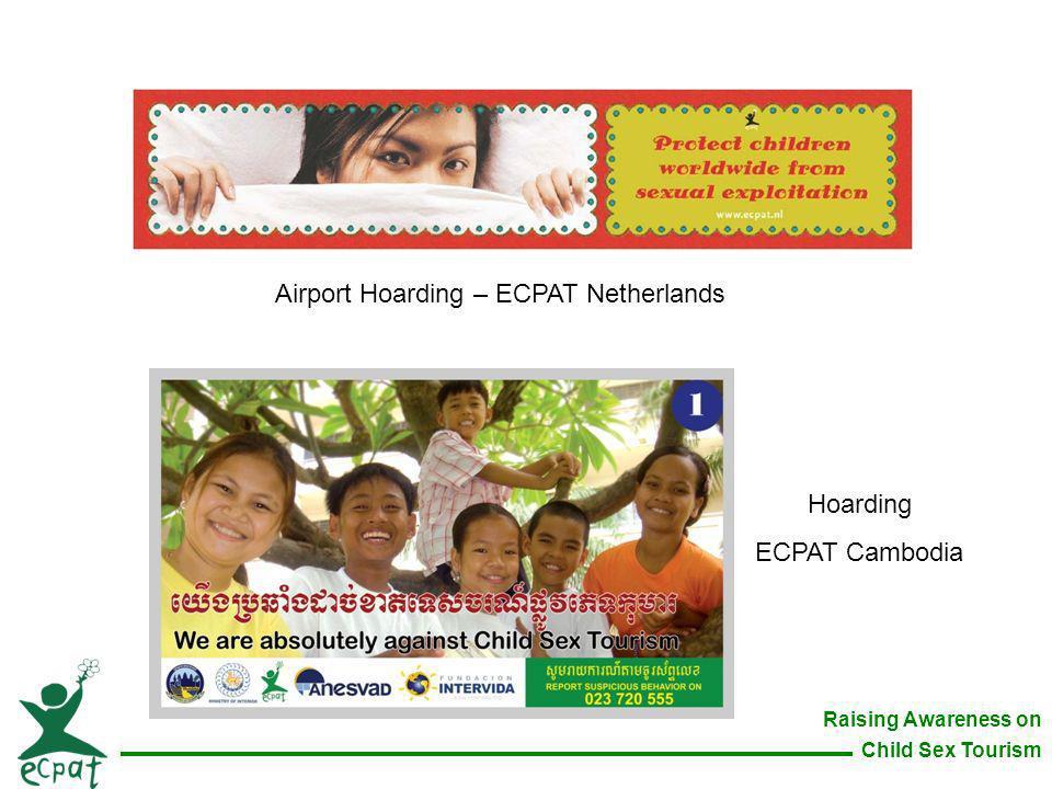 Airport Hoarding – ECPAT Netherlands