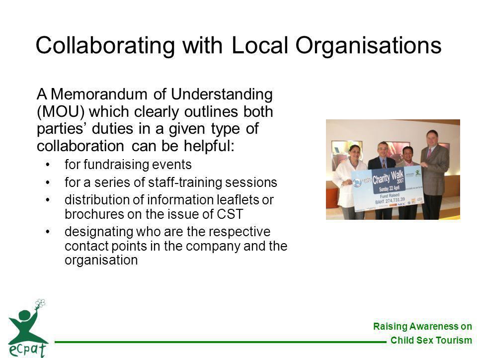 Collaborating with Local Organisations