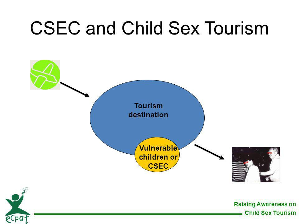 CSEC and Child Sex Tourism