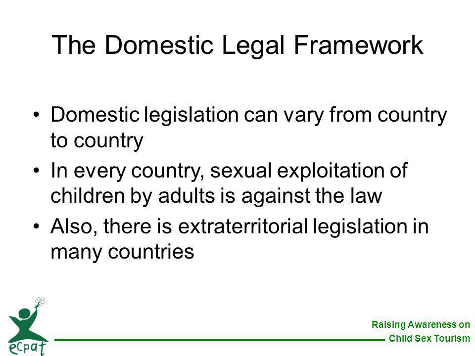 The Domestic Legal Framework