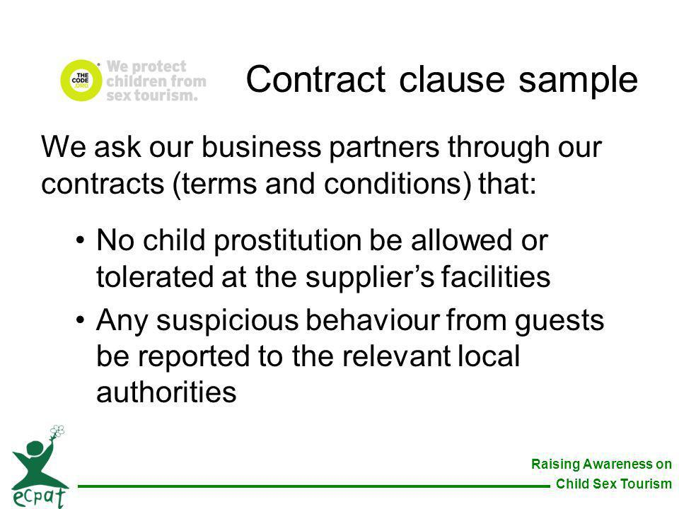 Contract clause sample