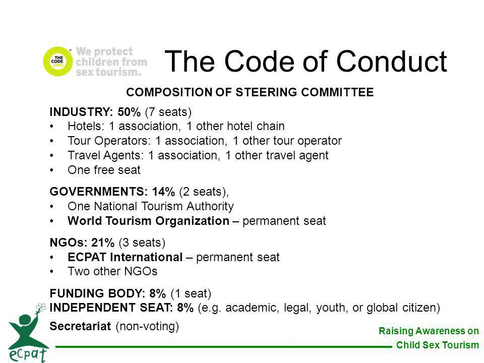 COMPOSITION OF STEERING COMMITTEE