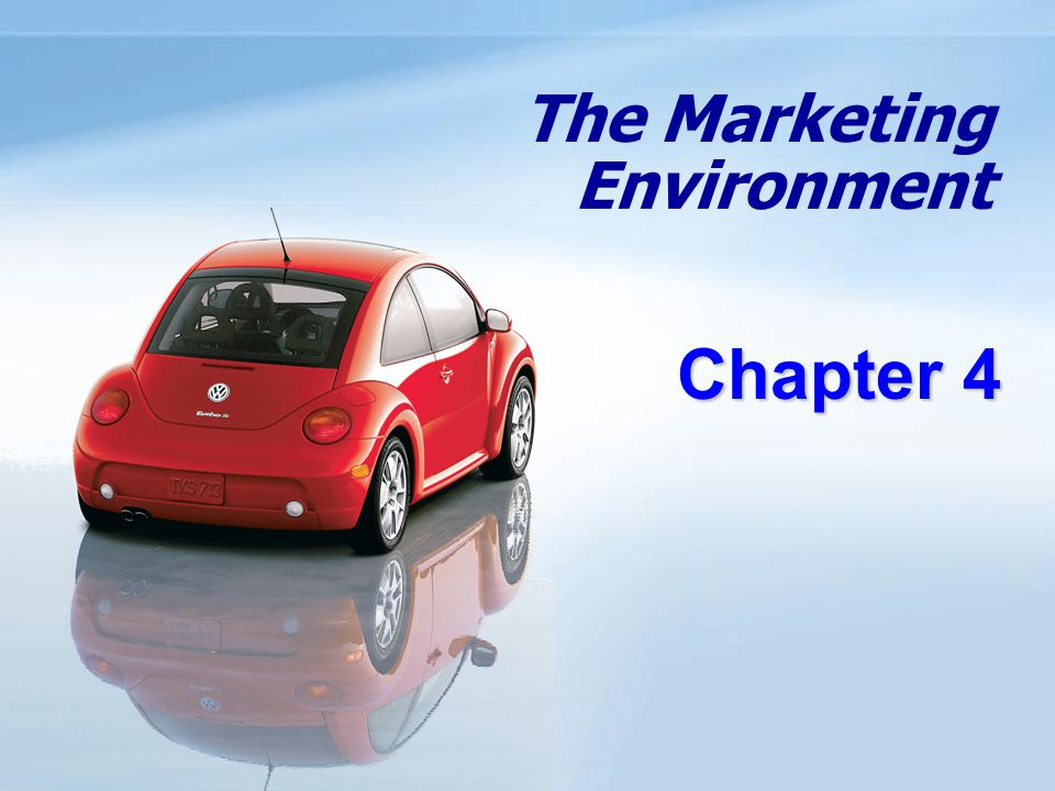 Objectives Know the environmental forces that affect the company's ability to serve its customers.