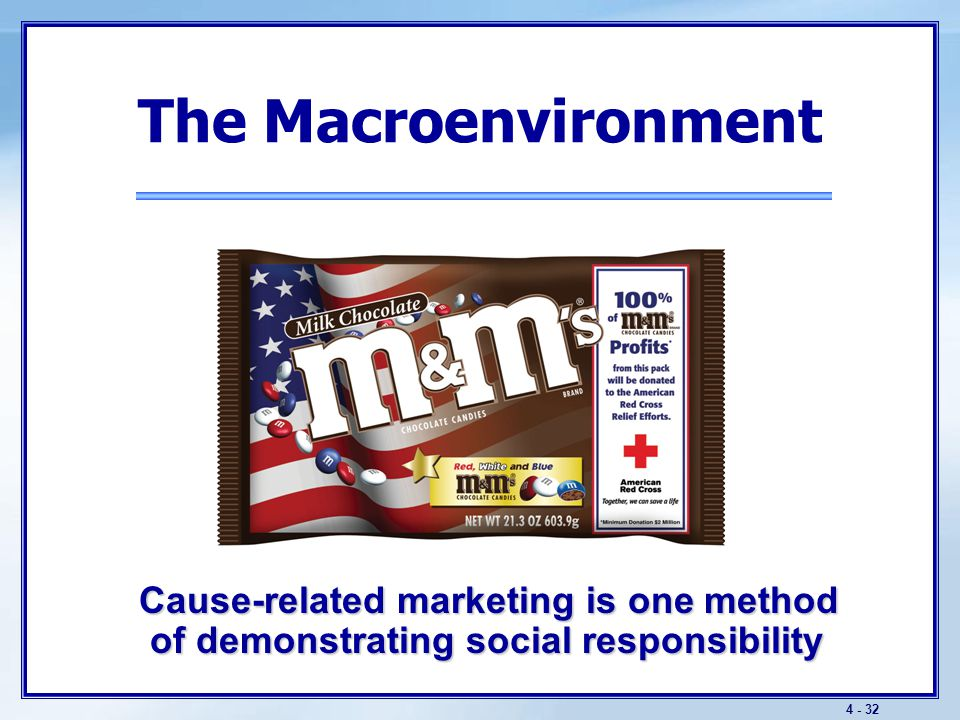 The Macroenvironment The Cultural Environment