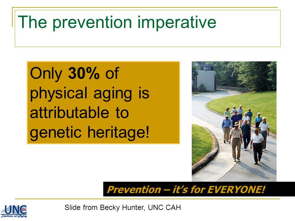 The prevention imperative