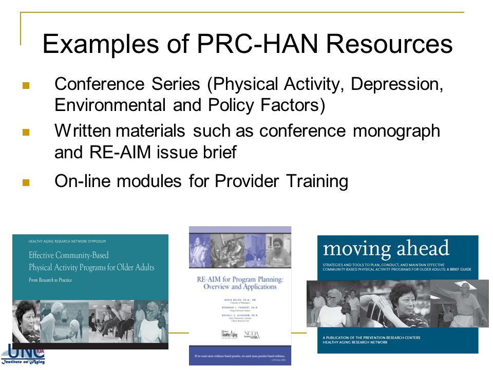 Examples of PRC-HAN Resources