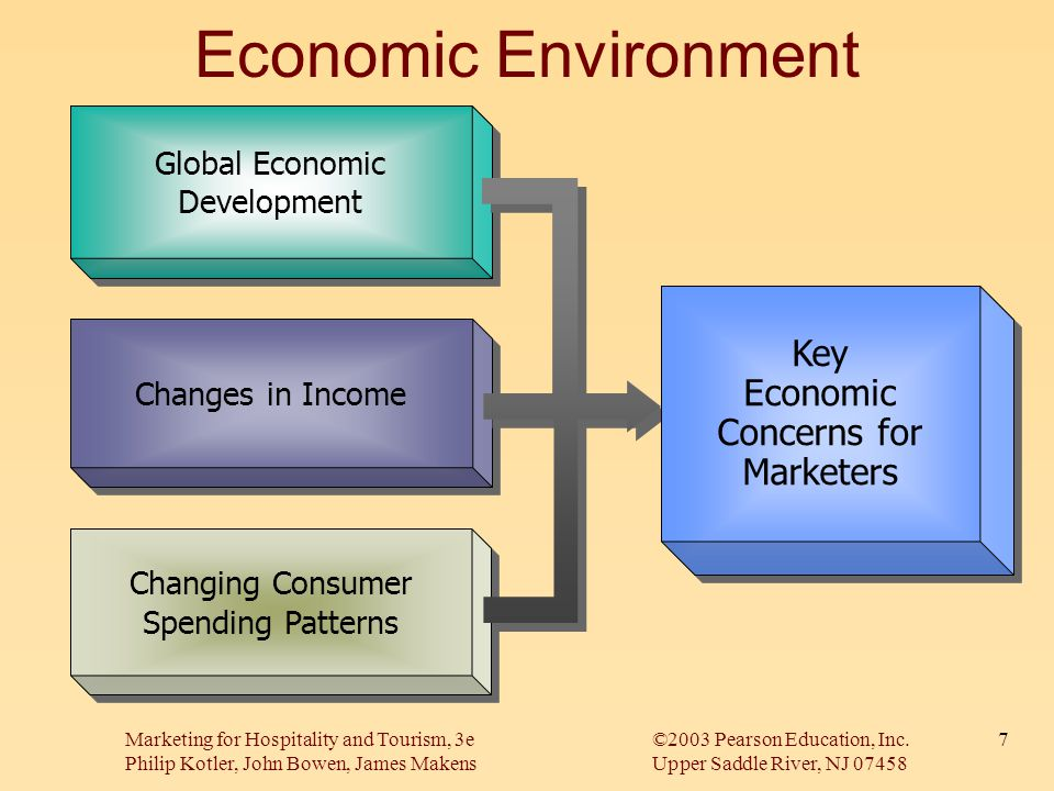 Economic Environment Key Economic Concerns for Marketers