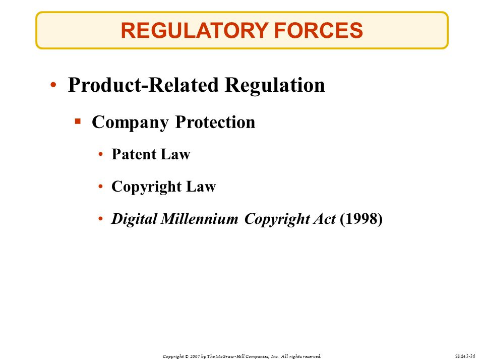Product-Related Regulation
