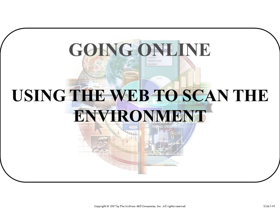 USING THE WEB TO SCAN THE ENVIRONMENT