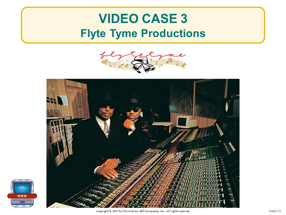 VIDEO CASE 3 Flyte Tyme Productions