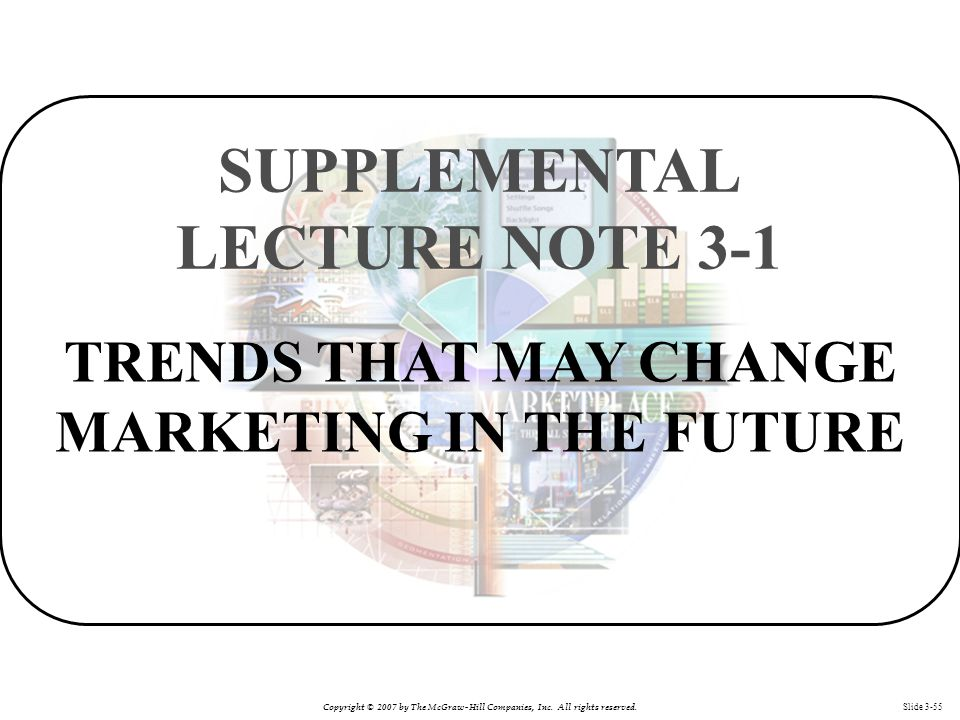 SUPPLEMENTAL LECTURE NOTE 3-1