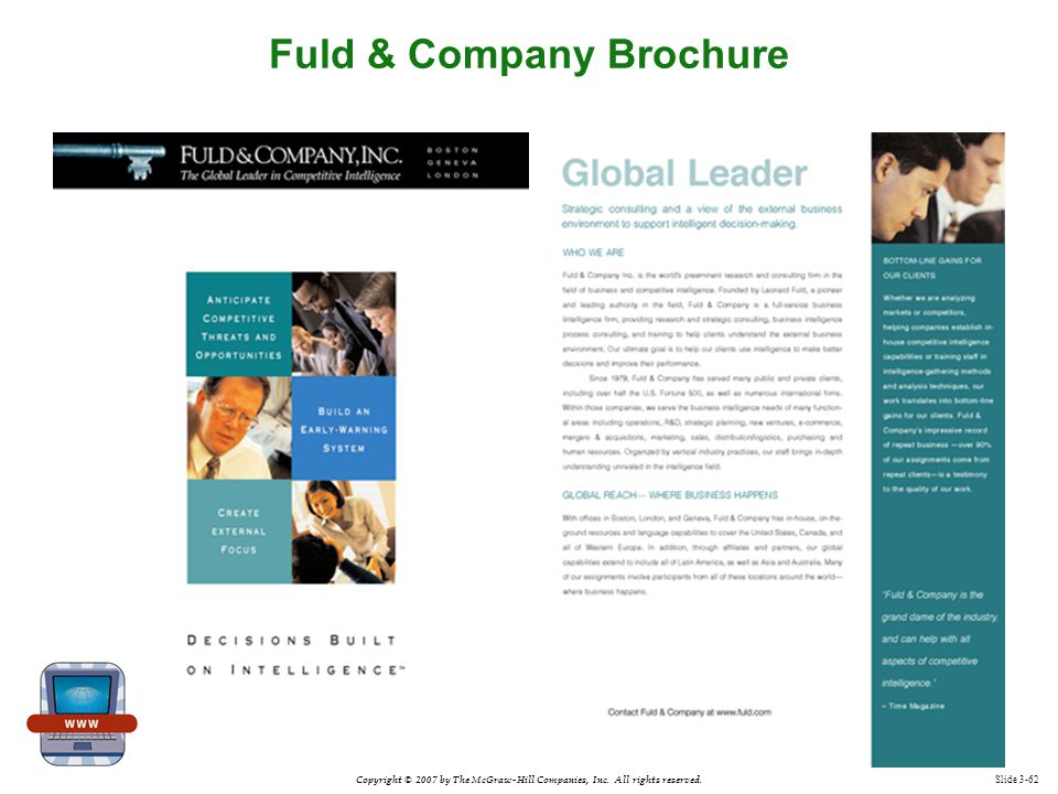 Fuld & Company Brochure
