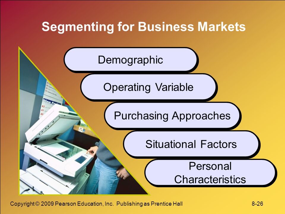 Segmenting for Business Markets