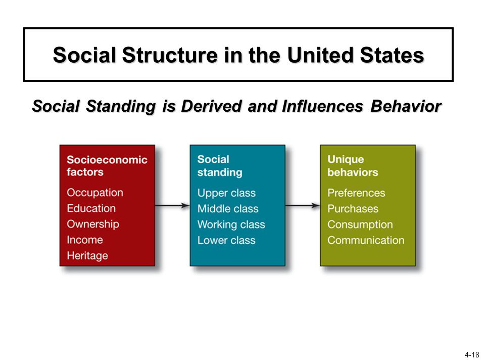 Social Structure in the United States