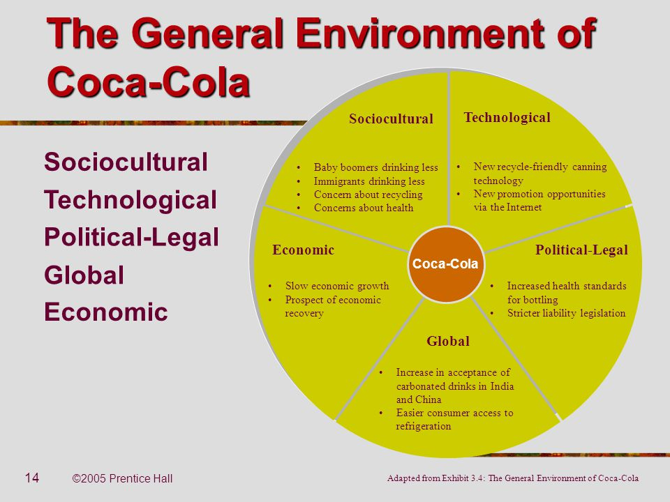 The General Environment of Coca-Cola