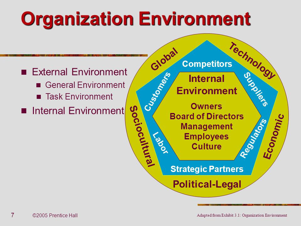 a discussion of external environment of the organization Encyclopedia of business, 2nd ed swot analysis: pr-sa.
