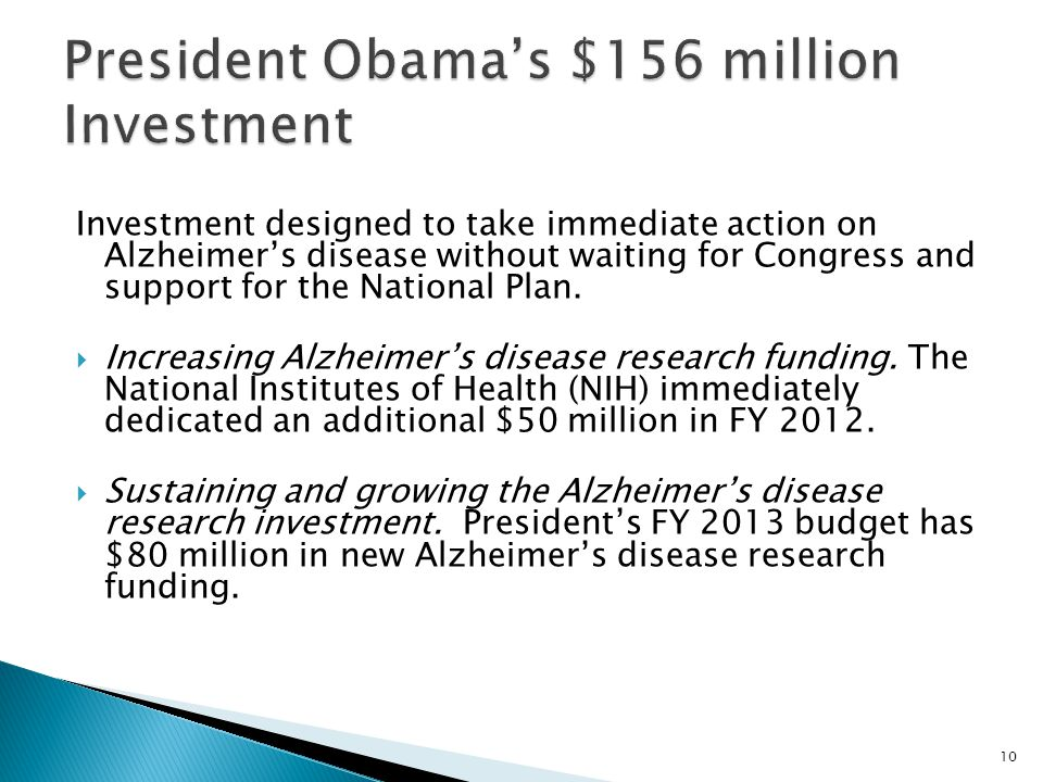 President Obama's $156 million Investment