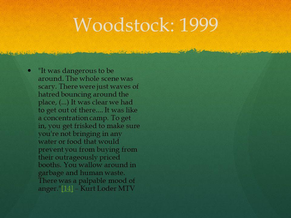 Woodstock: 1999