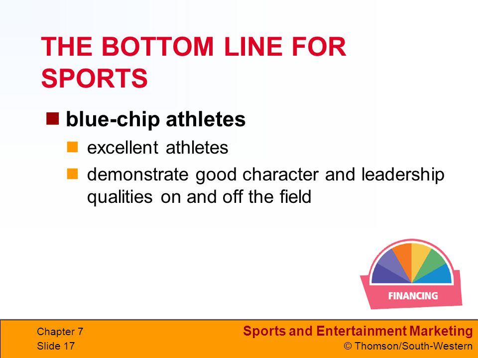 THE BOTTOM LINE FOR SPORTS