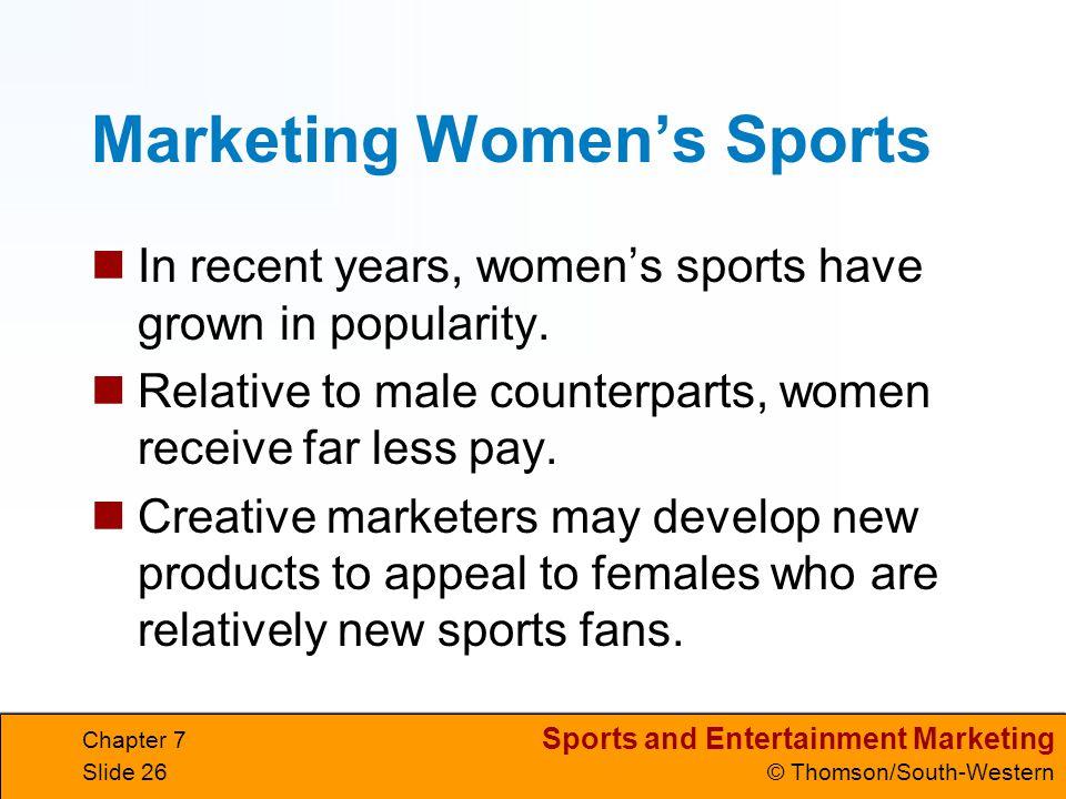 Marketing Women's Sports