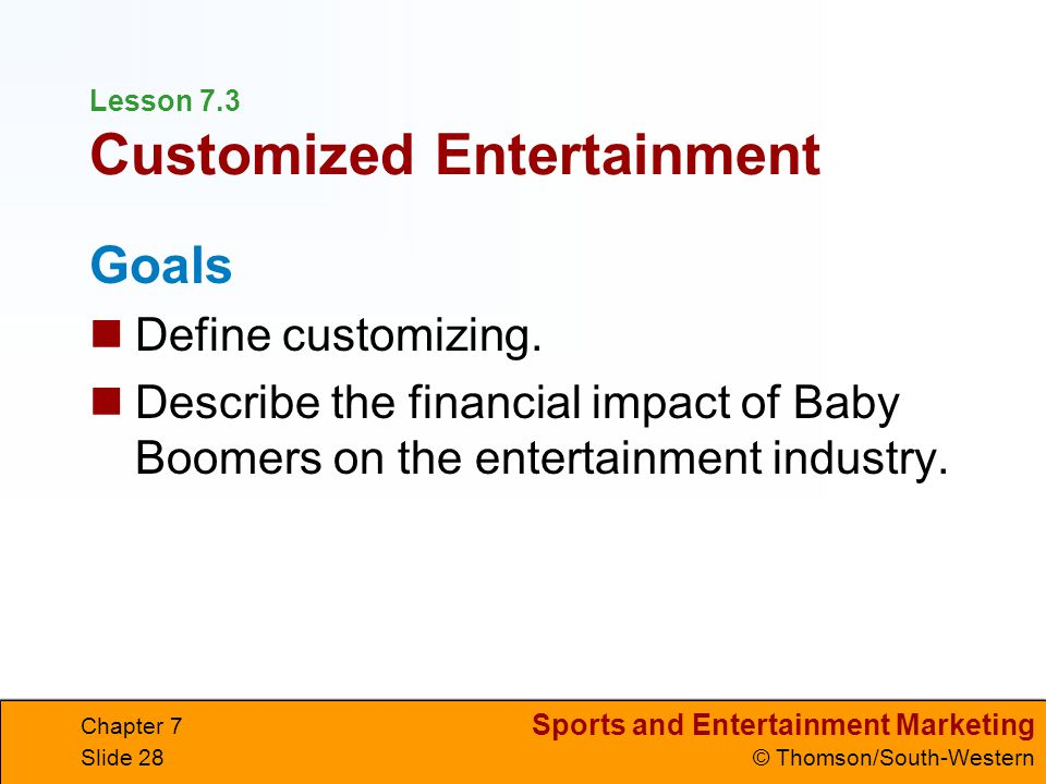 The influence of sports entertainment