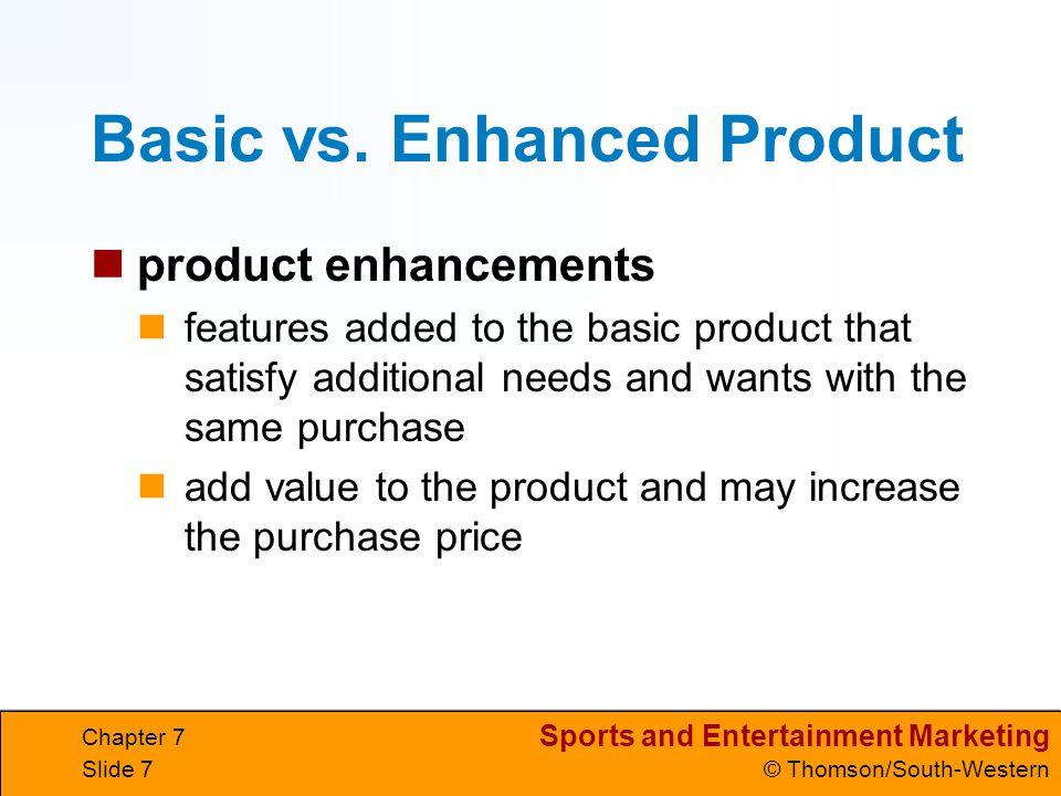 Basic vs. Enhanced Product