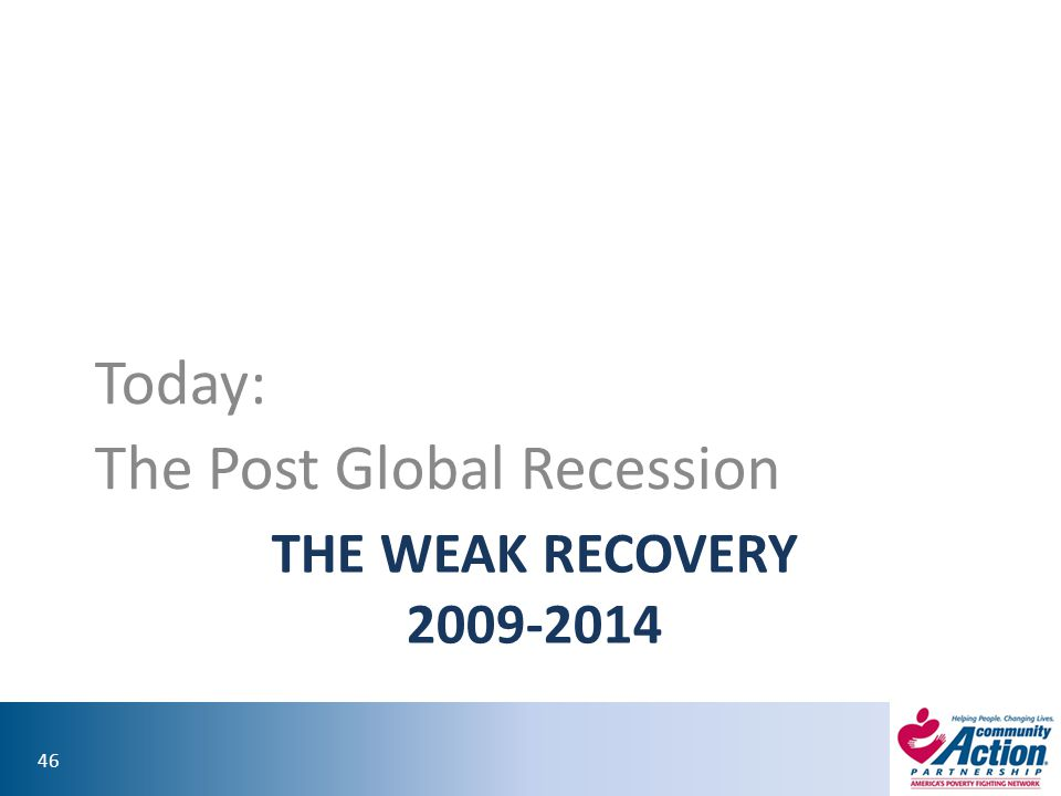 The Post Global Recession