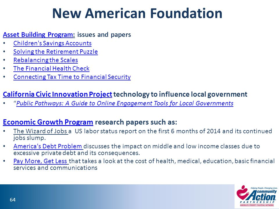 New American Foundation