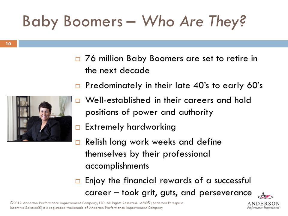 Baby Boomers – Who Are They