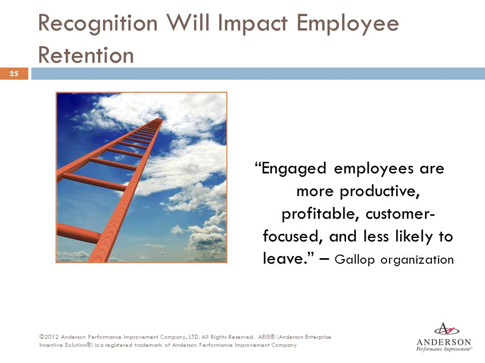 Recognition Will Impact Employee Retention