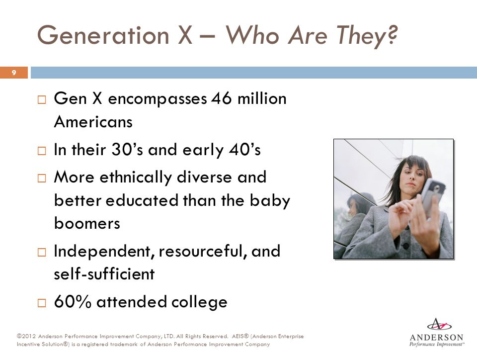Generation X – Who Are They