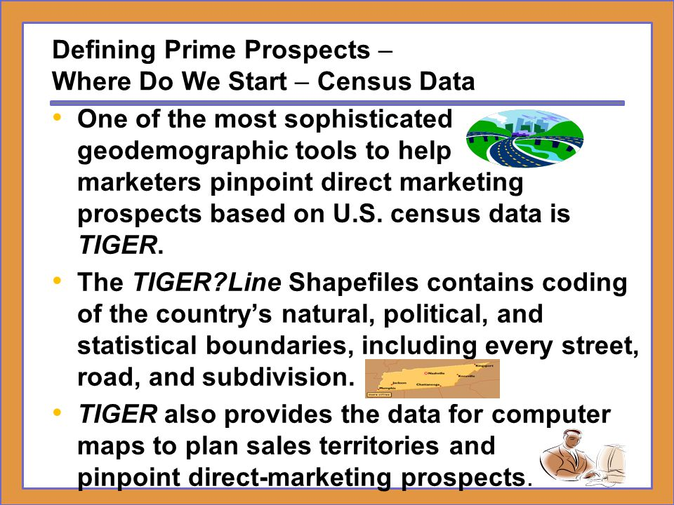 Defining Prime Prospects – Where Do We Start – Census Data