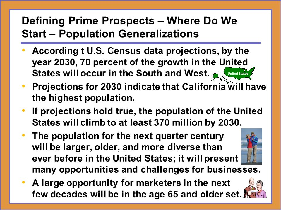 Defining Prime Prospects – Where Do We Start – Population Generalizations