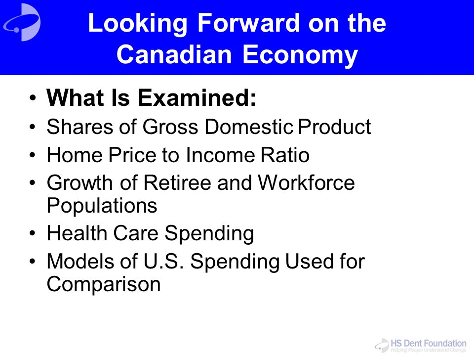 Looking Forward on the Canadian Economy