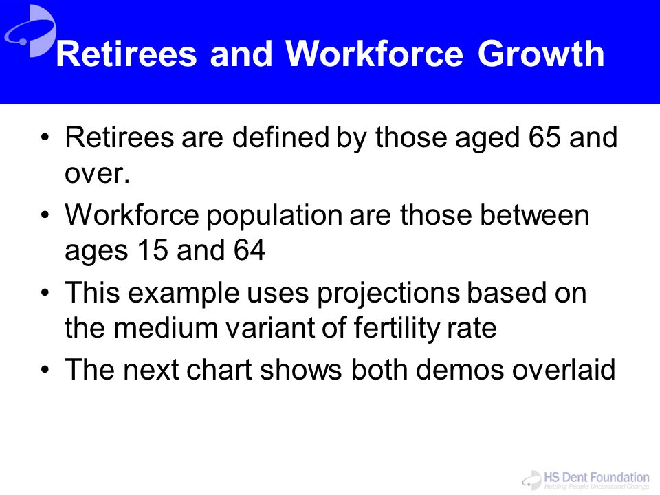 Retirees and Workforce Growth